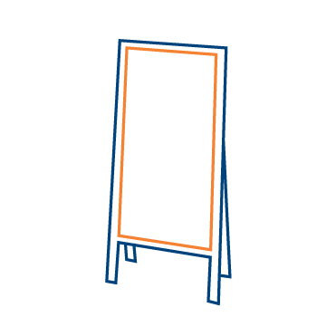 Lane EDM illustration aframe